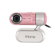 iHome MyLife Notebook Webcam Pink