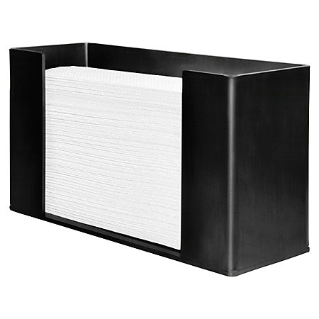 Genuine Joe Paper Towel Dispenser Black By Office Depot