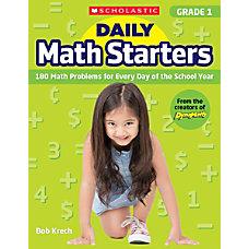 Scholastic Teacher Resource Daily Math Starters