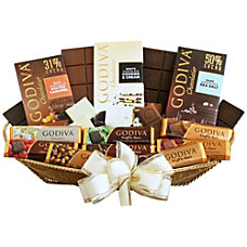 Givens Gift Basket Godiva Bars Galore