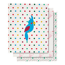 Divoga 2 Pocket Paper Folder Parrot