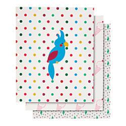 Divoga 2 Pocket Paper Folder Parrot