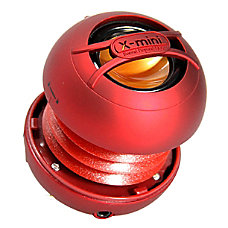 X mini UNO Capsule Speaker Red