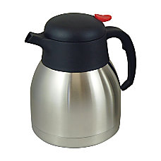 Genuine Joe Everyday 4 Cup Stainless