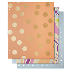 Divoga 2 Pocket Paper Folders Whimsical