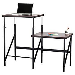 Safco Bi Level StandSit Desk Rectangle