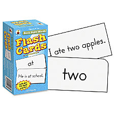 Carson Dellosa Flash Cards Basic Sight