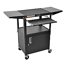 Luxor Adjustable Height Cart CabinetLeaf 42