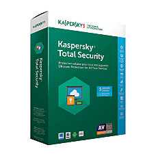Kaspersky Total Security 2017 For 5