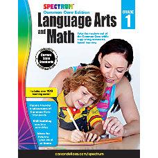 Spectrum Language Arts And Math Book