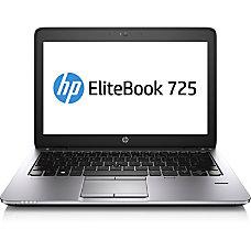 HP EliteBook 725 G2 Laptop Computer