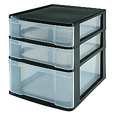 Office Depot Brand 3 Drawer Table