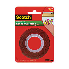 Scotch Permanent Double Sided Tape 1