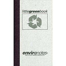 Roaring Spring Little Green Memo Book