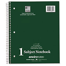 Roaring Spring 1 Subject Notebook 70