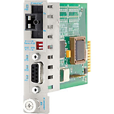 iConverter RS 232 Serial Single Fiber