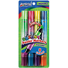 ArtSkills Double Sided Neon Markers Assorted