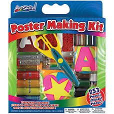 ArtSkills 40percent Recycled Poster Making Kit