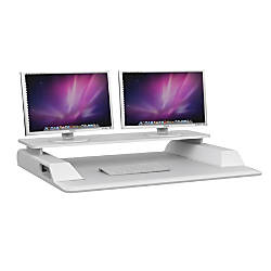 Safco Merge Sit Stand Workstation Plus