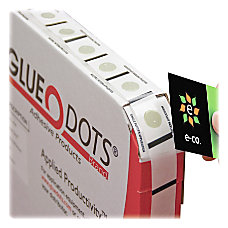 Tatco Removable Glue Dots 12 Clear
