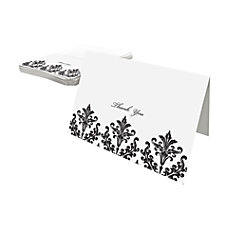 Gartner Studios Thank You Cards BlackWhite