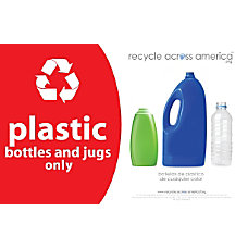 Recycle Across America Plastics Standardized Recycling