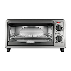 Black Decker Toaster Oven Metallic Charcoal