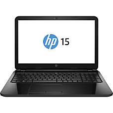 HP 15 Laptop Computer With 156