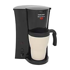 Black Decker Brew N Go Coffeemaker