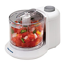 Black Decker One Touch Chopper White