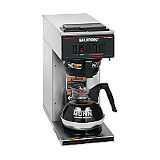 Bunn 12 Cup Pourover Brewer Stainless