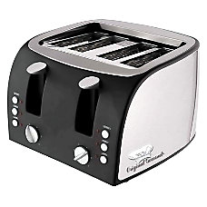 CoffeePro Adjustable Slot 4 Slice Toaster