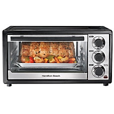 Hamilton Beach Multifunction Toaster Oven Black