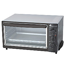 CoffeePro Original Gourmet Toaster Oven BlackSilver