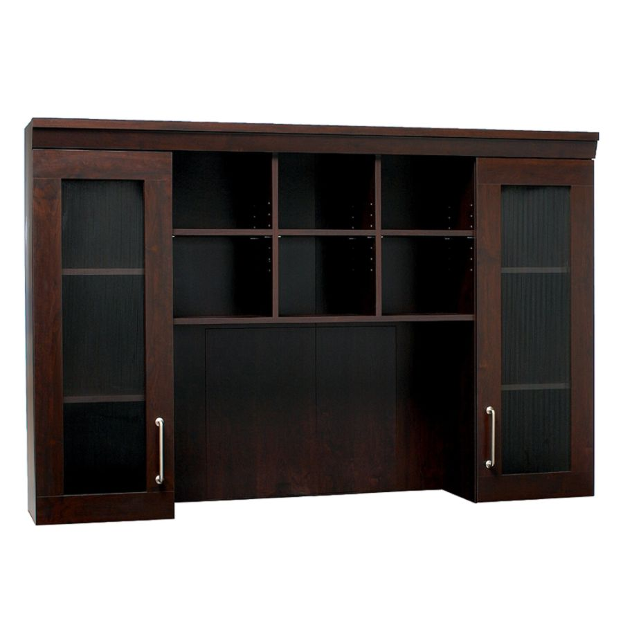 Christopher Lowell Town Collection Credenza Hutch 43 12 H x 65 38