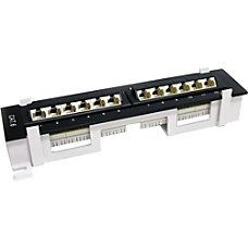 StarTechcom 12 Port 1U Wall Mount