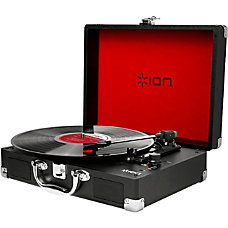 ION Vinyl Motion Portable Suitcase Turntable