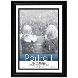 timeless frames lauren frame portrait 13 x 19 black by office depot officemax. Black Bedroom Furniture Sets. Home Design Ideas