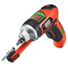 Black Decker Lithium Screwdriver with SmartSelect