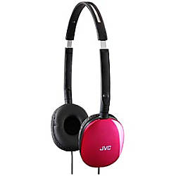 JVC FLATS Lightweight Folding Headphones