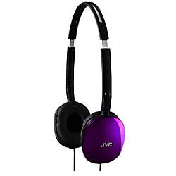 JVC FLATS Lightweight Folding Headphones