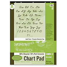 Pacon Ecology Flip Chart Pad 70