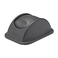 Rubbermaid Rectangular Free Swinging Plastic Lids