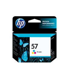 HP 57 Tricolor Original Ink Cartridge