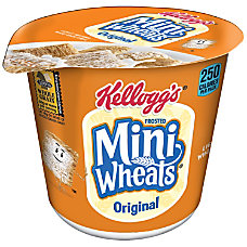 Frosted Mini Wheats Cereal In A