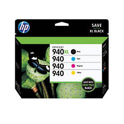 HP 940XL940 BlackColor Original Ink Cartridges