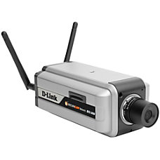 D Link SecuriCam DCS 3430 Network