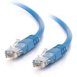 C2G 65ft Cat5e Molded Solid Unshielded