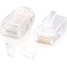 C2G RJ45 Cat5E Modular with Load