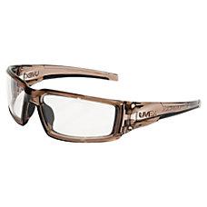 Honeywell Uvex Hypershock Safety Glasses Smoke